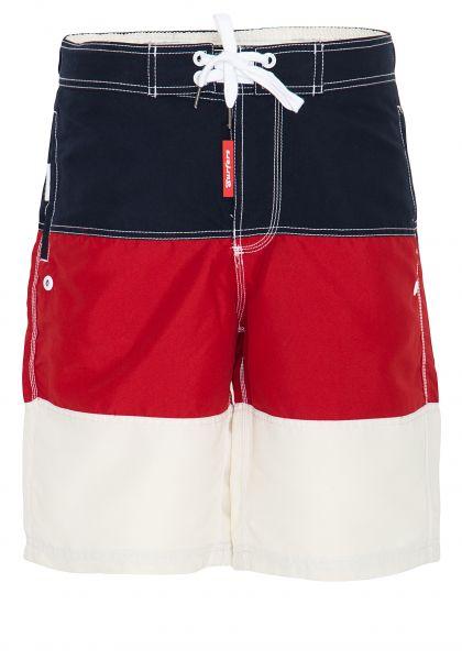 COLINS Badeshorts im trendigen Colorblocking Look