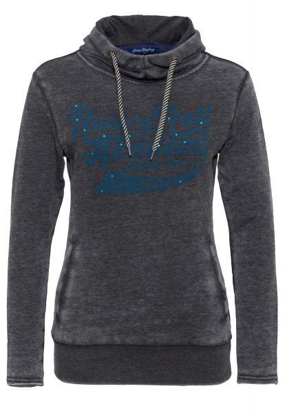 BLUE MONKEY Hoodie mit Schriftzug RR Academy Style-119-4005