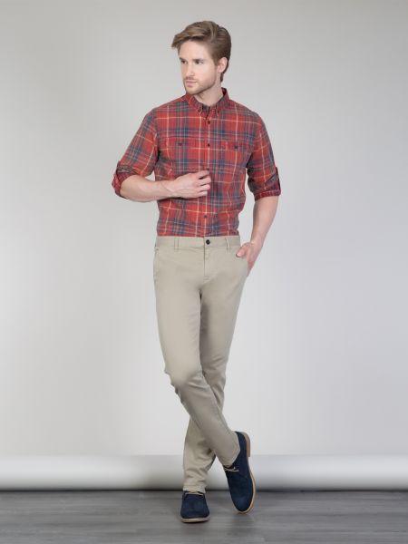 COLINS Chino Hosen Garment Dyed Slim Fit