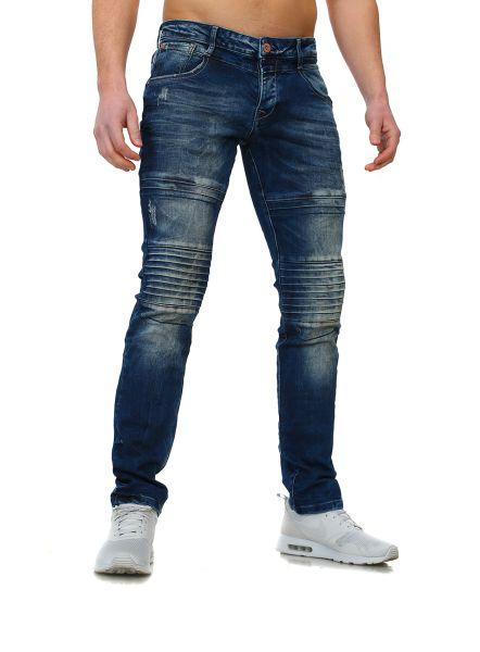 Young & Rich Jeans Biker