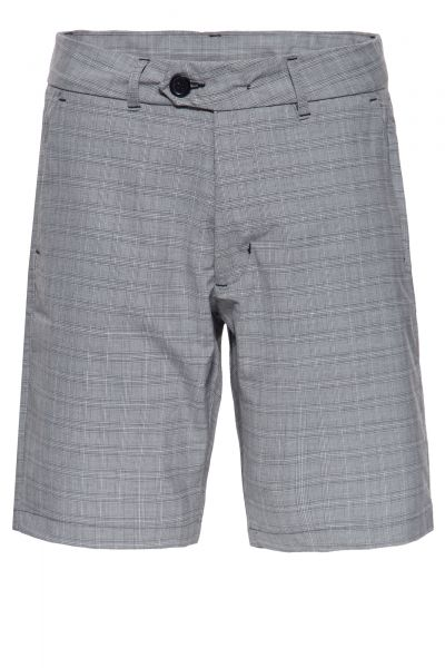 WAY OF GLORY Chice Herren Shorts mit feinem Karomuster