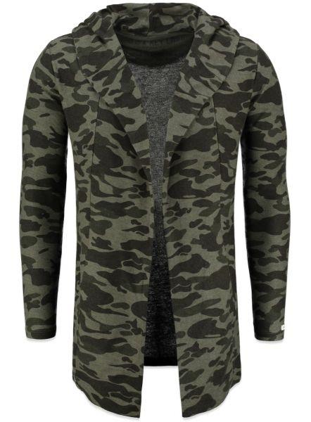 KEY LARGO Herren Sweatshirt & Sweatjacken MSW KALLI jacket camou