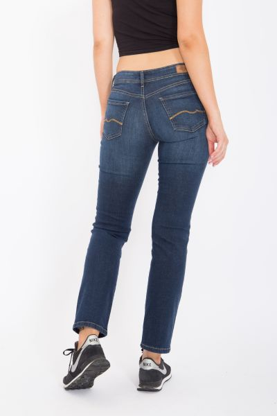 WAY OF GLORY Jeans Britney regular fit & straight leg -dark blue wash Britney