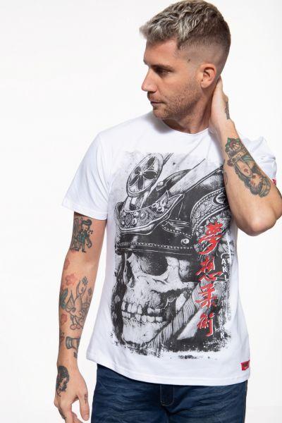 T-Shirt mit großem Schädel-Motiv »Skull«