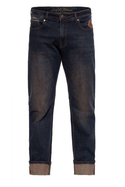 KING KEROSIN Red Selvedge Jeans mit coolem Tint Wash »Robin Selvedge«