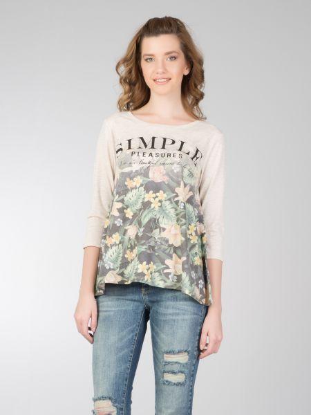 COLINS 3/4 Arm Shirt mit floralem Druck