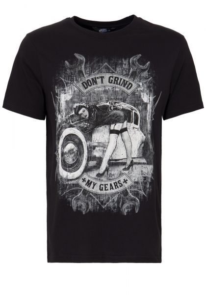 KING KEROSIN T-Shirt mit Front Print »Don´t Grind« Don´t Grind