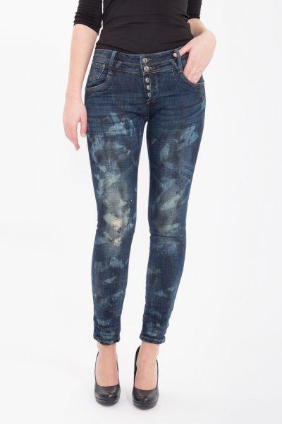 BLUE MONKEY Slim Fit Jeans Marie 1610 Marie 1610