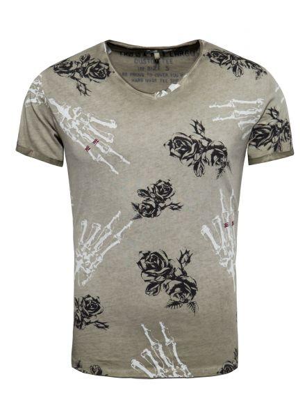 KEY LARGO Herren T-Shirt MT ELEMENTS v-neck