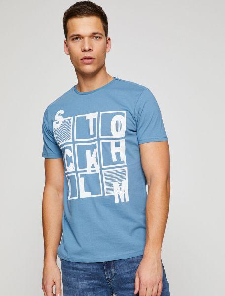 KOTON T-Shirt mit lässigem Aufdruck im Vorderteil