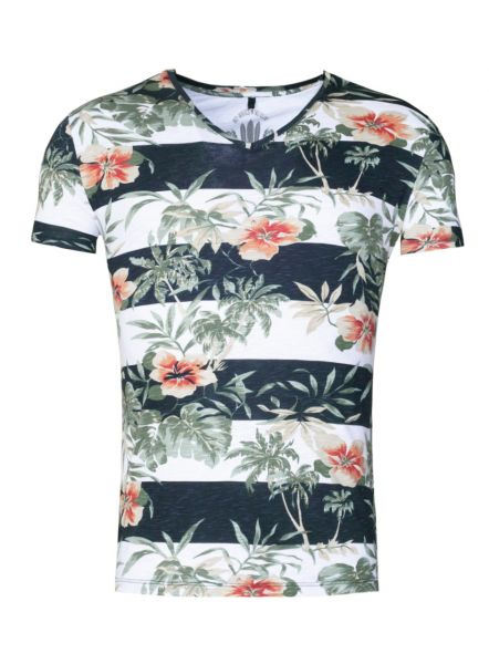 KEY LARGO Herren T-Shirt MT MALIBU v-neck