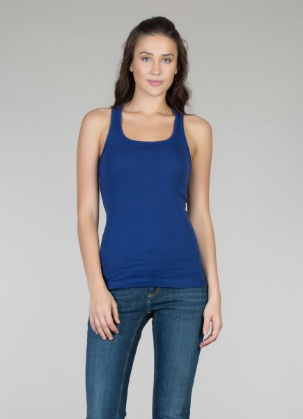 COLINS Basic Baumwoll-Top, Slim Fit