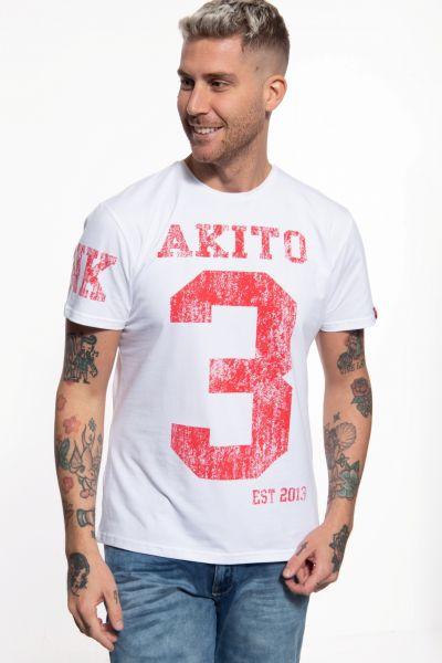 T-Shirt mit Print in der Front und auf dem Ärmel »Number«