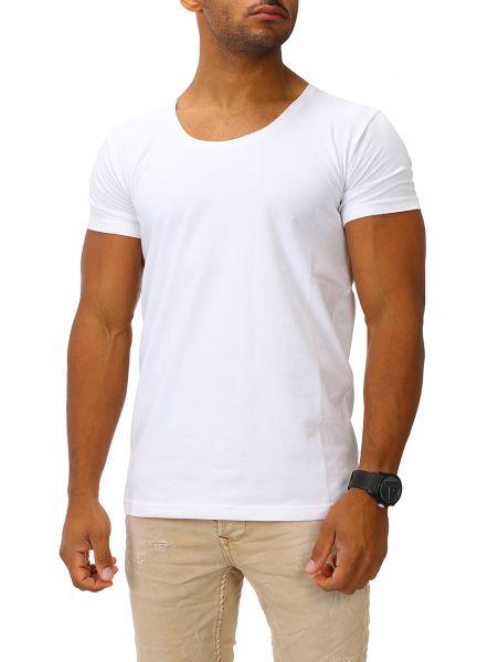 Joe Franks Herren Basic T-Shirts Round DEEP