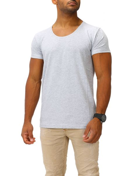 Joe Franks Herren Basic T-Shirts Round DEEP