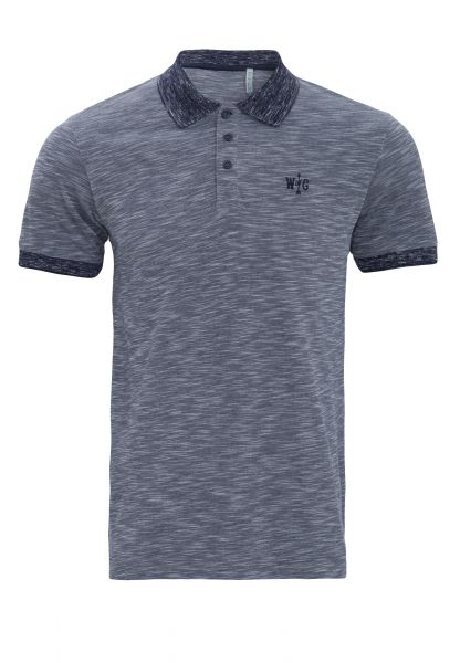 WAY OF GLORY  Poloshirt meliert