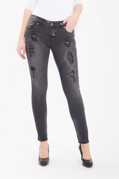 BLUE MONKEY Skinny Jeans Honey 1676 Honey 1676