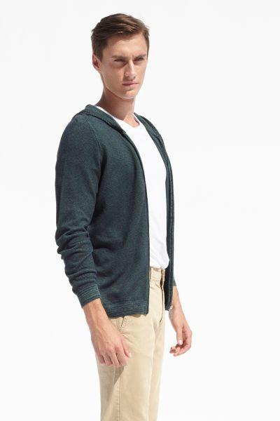 PORT ROYALE Sweatshirt mit Reißverschluss und Kapuze