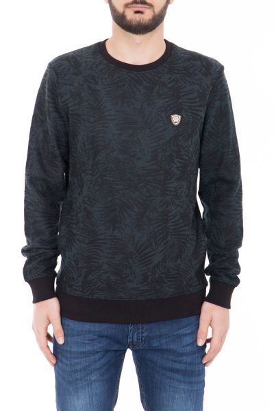 CANIZALES Sweatshirt mit Tropical Muster