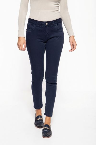 Slim Fit Jeans im 5-Pocket-Design »Leoni«