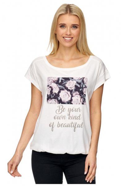 DECAY Shirt mit Druckpatch und Schriftzug