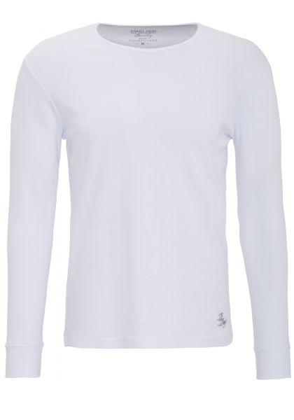 DANIEL DAAF Langarm Shirt mit Logostickerei