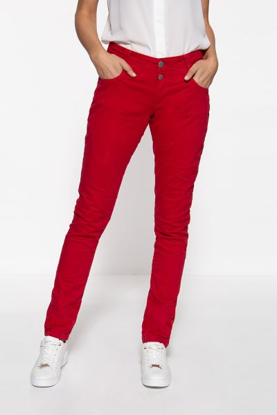 WAY OF GLORY Damen Jeans mit Waschungen
