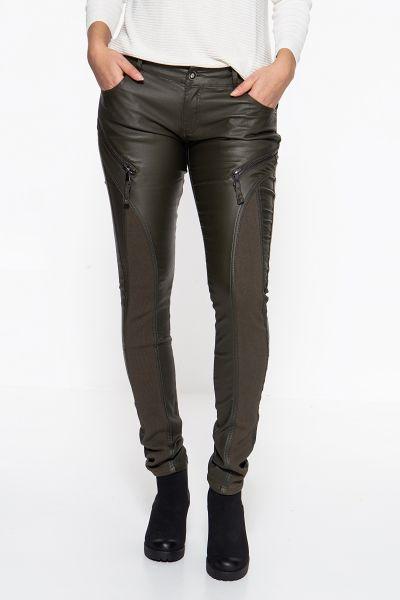 BLUE MONKEY Skinny Fit Jeans »Wanda 7207« mit Stretcheinsätzen und Zier-Zippern Wanda 7207