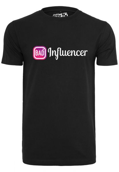 Bad Influencer Tee black L