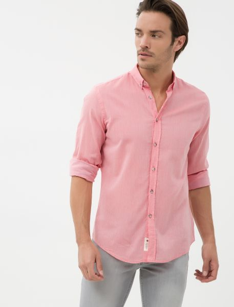 KOTON Hemd mit Button-down-Kragen