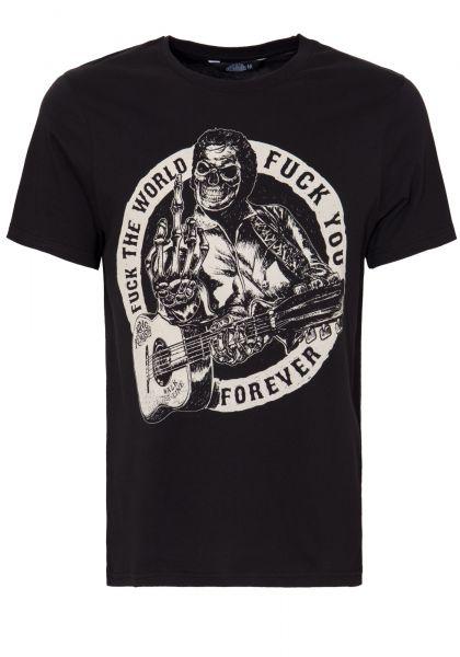 KING KEROSIN T-Shirt mit Front Print »F*** the World« F*** the World
