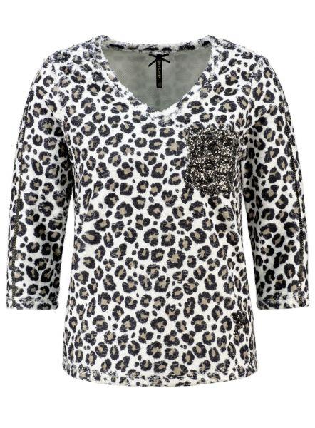 KEY LARGO Damen Sweatshirt & Sweatjacken WSW SAHARA v-neck 34