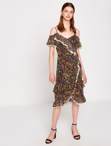 KOTON Sommerkleid mit floralem Muster