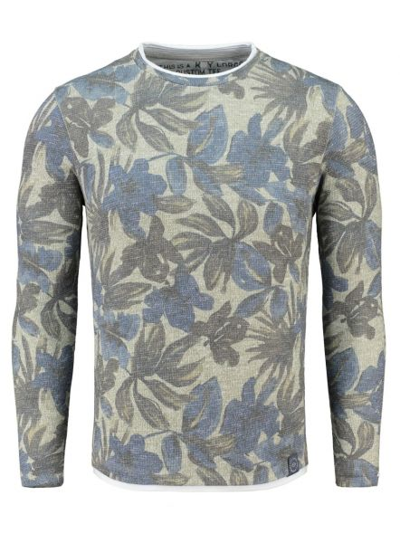 KEY LARGO Herren Sweatshirt & Sweatjacken MSW BORDER round