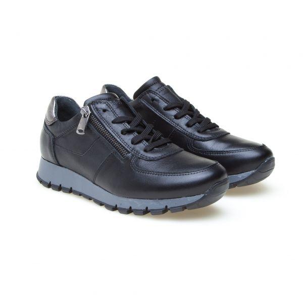 GREYDER Modischer Sneaker mit Reißverschluss und Glanzeffekt