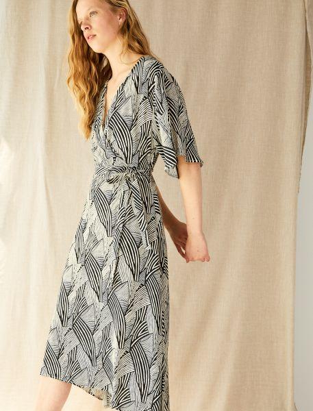 KOTON Kleid mit abstraktem Muster
