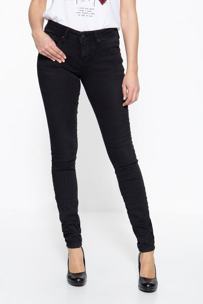 BLUE MONKEY Skinny Fit Jeans im 5-Pocket-Design Patty 25B