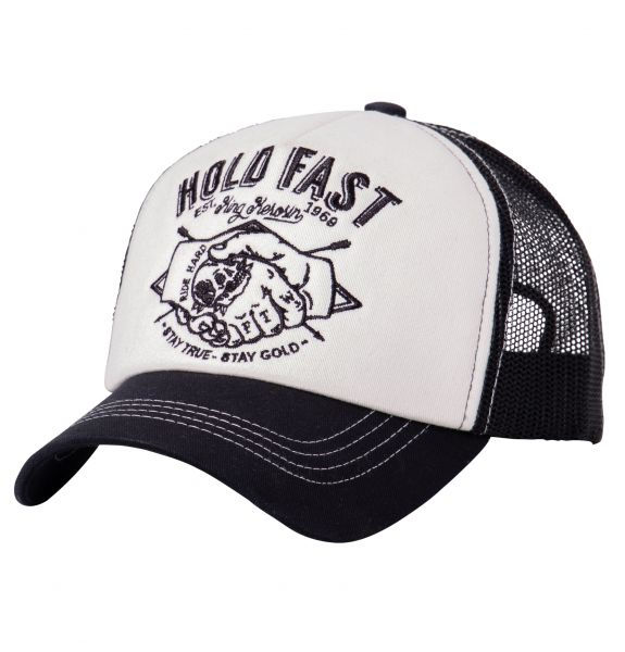 KING KEROSIN Trucker Cap mit wattierter Front Hold Fast