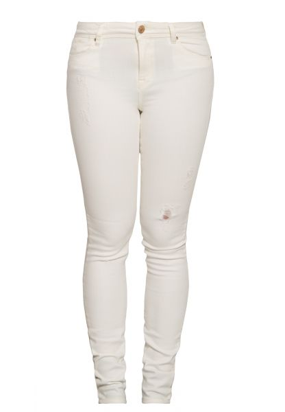 MEXX 5 pocket skinny fit Jeans mit leichten destroyed Effekt