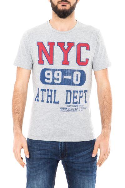 DANIEL DAAF Shirt mit Schriftzug
