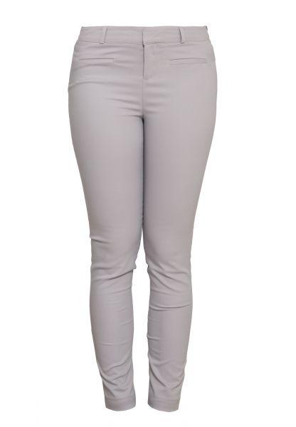 MEXX Schmale Stretch-Hose mit Reißverschluss und Haken