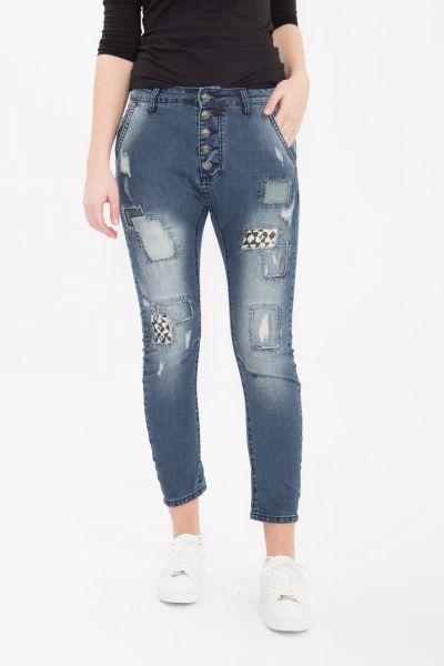 BLUE MONKEY Boyfriend Jeans Poppy 3748 Poppy 3748
