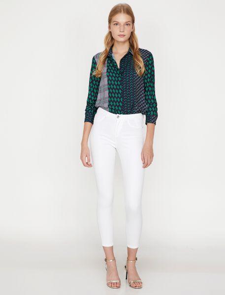 KOTON 5-Pocket-Jeans mit Ziertaschen Carmen
