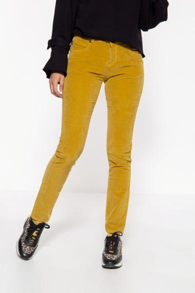 Slim Fit Hose mit Samt-Optik »Belinda Velvet«