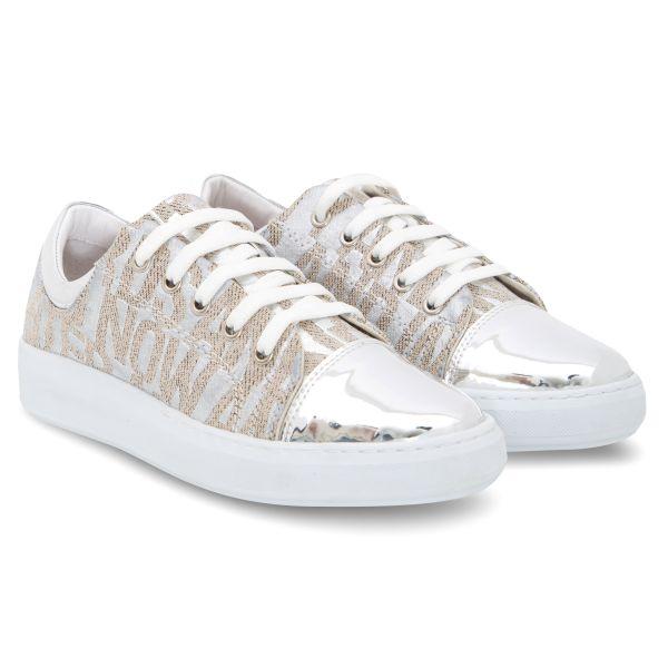 GREYDER Sneaker mit Silberdruck und Metallic Details