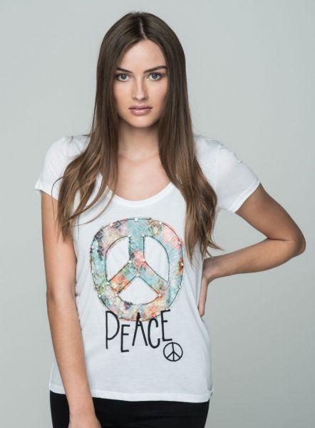 KEY LARGO Damen T-Shirt WT BLING round