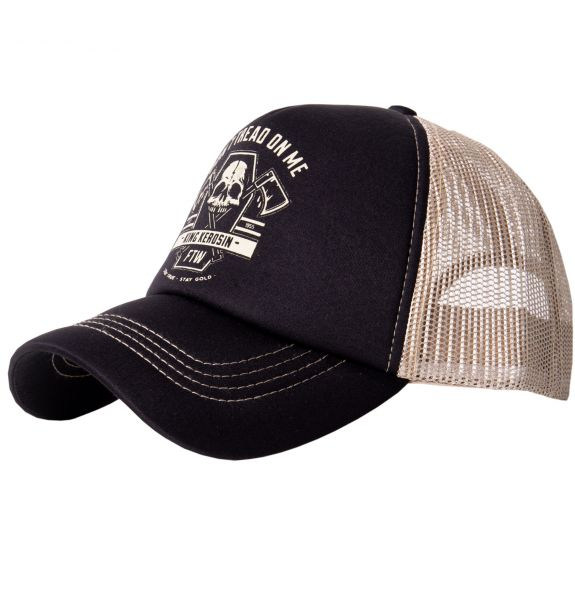 KING KEROSIN Trucker Cap »Don´t tread on me« mit Printmotiv Don´t tread on me