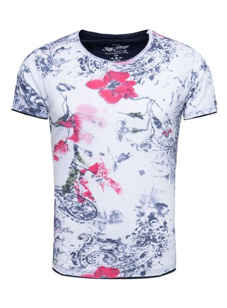 KEY LARGO Herren T-Shirt MT SUN round