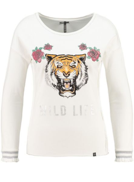 KEY LARGO Damen Sweatshirt & Sweatjacken WSW WILD NATURE round