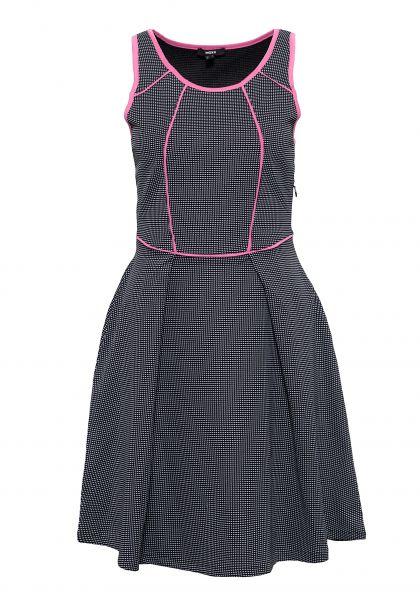 MEXX Tailliertes Kleid mit kontrastierenden Einfassungen